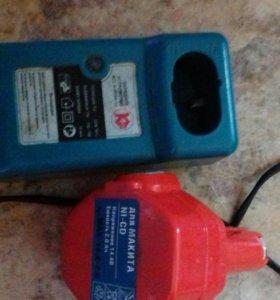Зарядное и батарея Махитта