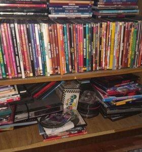DVD диски и сам DVD караоке