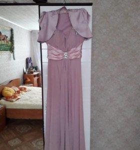 Платье вечернее с балеро