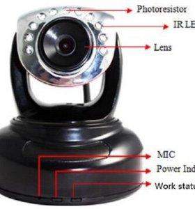 IP камера. HD PTZ camera Z-555MW