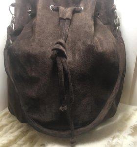 Сумка мешок, рюкзак