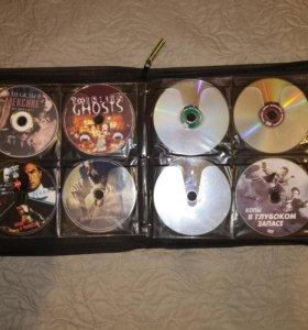 Коллекция DVD дисков:боевики,фантастика,ужастики
