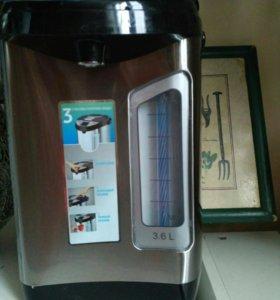 Термос-чайник бытовой электрический