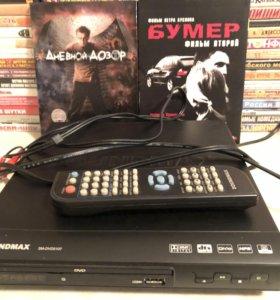 DVD player + коллекция фильмов