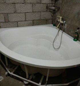 Угловая ванна 1,5х1,5