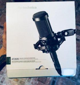 Вокальный конденсаторный микрофон AT2035