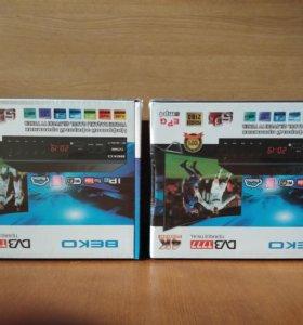 Цифровые приставки DVB T2.Новые