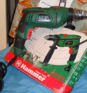 Дрель ударная hammer 850 Вт