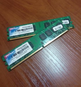 Оперативная память PATRIOT Memory 1GBx2