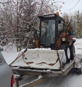 Вывоз и чистка снега