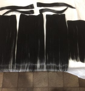 Накладки на волосы