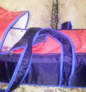 Продам сумку-переноску,слинг и кенгуру