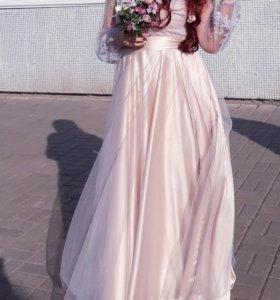 Платье свадебное(вечернее)
