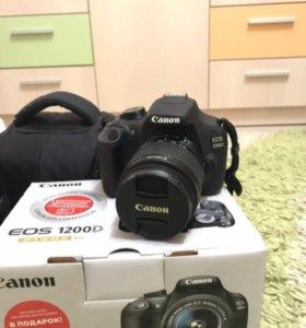 Фотоаппарат Canon EOS 1200D 18-55IS  отдаю
