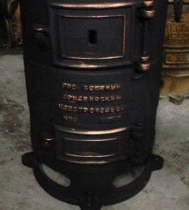 Обогреет в зиму Советская печка