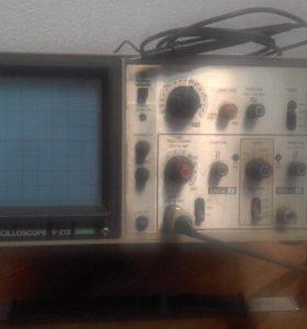осциллограф HITACHI oscillcope v-212