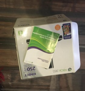 XBOX 360 slim(прошитый)+KINEKT+ 30игр(на выбор)