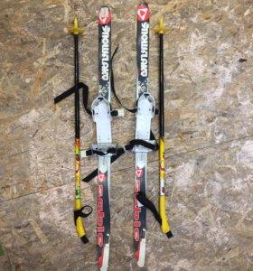 Лыжи -детские