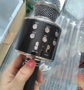 Новый караоке микрофон Wster WS-858