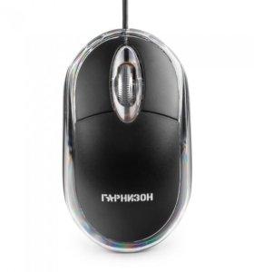 Мышка проводная Гарнизон GM-100 black
