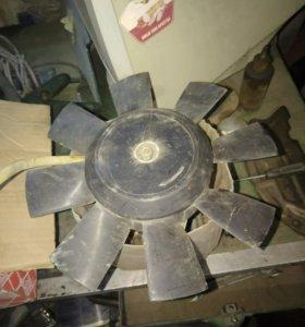 Вентилятор охлаждения ваз 2110