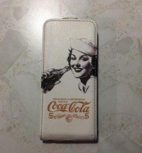 Чехол Coca-cola на айфон 5/5s/se