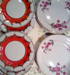 СССР тарелки