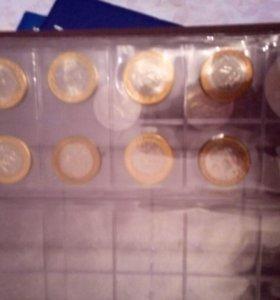 Юбилейные монеты биметалл СПМД