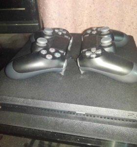 PS 4 в идеальном состоянии + топ эксклюзив
