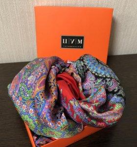 Шелковый платок Michele Binda original цум