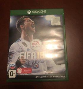 Диск FIFA 18 для Xbox