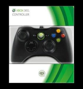 Геймпад Controller проводной Black (Xbox 360)