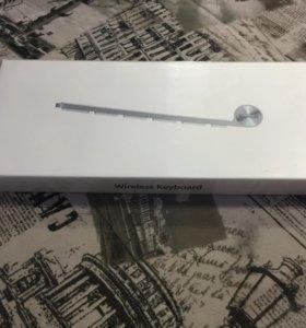 Клавиатура беспроводная Apple MC184RU/B НОВАЯ!!!