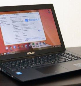 Четырехъядерный Ноутбук Asus