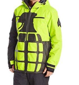 Новая сноубордическая мужская куртка Grenade р.М