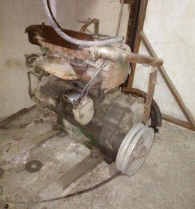 Двигатель военный УД 2