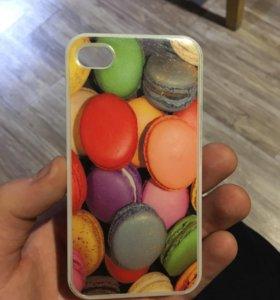 Чехол на IPhone 4 s