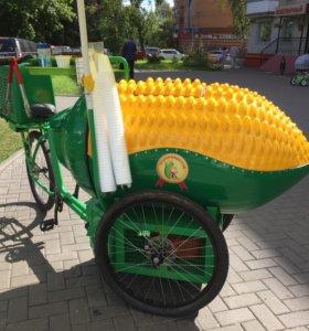 Велокукуруза пароварка