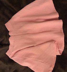 Юбка розовая новая