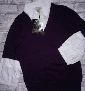 Кофта, рубашка для девочки (блузка)