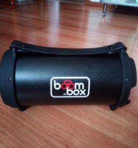 Колонка bluetooth bom box