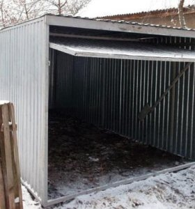 Новые металлические  гаражи-пеналы