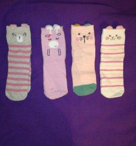 Новые тонкие, детские носки
