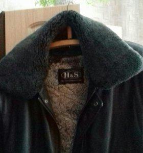 Клжаная куртка