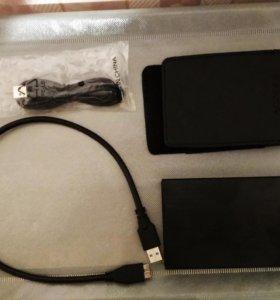 Корпус для жёсткого дика 2,5, RAID, USB 3.0