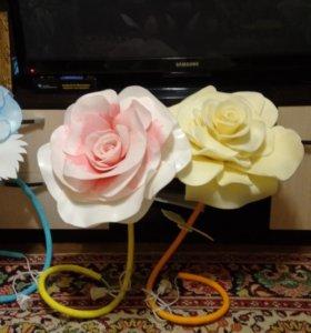 Цветы от 500р