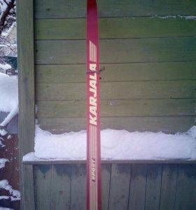 Деревянные лыжи времен СССР