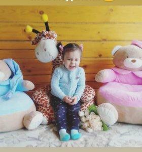 Детский пуфик кресло мягкая игрушка