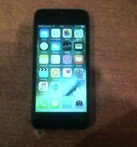 iPhon 5 ( на запчасти или на восстановления)
