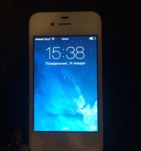 Айфон 4 8 гигабайт